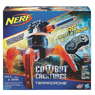 Hasbro Nerf N-Strike Elite Combat Creatures Dart Shooter