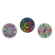 S&S Worldwide Sun Catcher Mandalas, 24/Pack