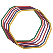 JBEC 12-Sided Agility Rings, 6/Set