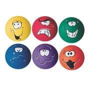"S&S Worldwide Smedley Playground Balls, 8.5""Dia, 6/Set"