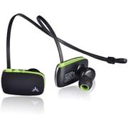 Avantree Sacool Lightweight Bluetooth Headphones with Microphone, Black/Green (BTHS-AS8-BLK)