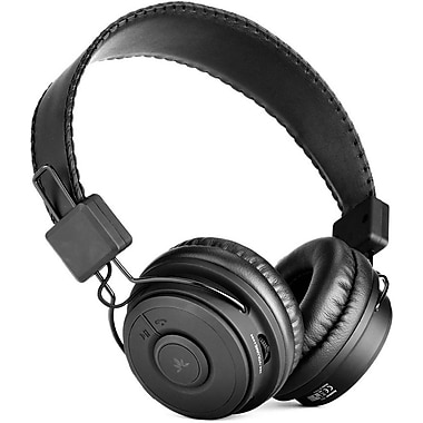 Avantree Hive Full-Sized Bluetooth Headphone with Microphone, Black (BTHS-849-BLK)