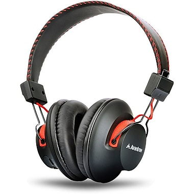 Avantree Audition Full-Sized Bluetooth Headphones with Microphone, NFC and Aptx, Black (BTHS-AS9-BLK)