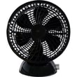 Keystone 6-Inch USB Desk Fan Black