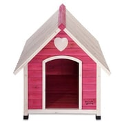 Pet Squeak Arf Frame Dog House in Pink; X Small (22.75'' H x 22.25'' W x 22'' L)