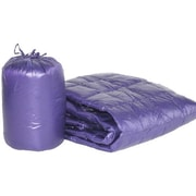 PUFF Ultra Light Indoor/Outdoor w/ Compact Travel Bag Throw; Purple