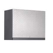 NewAge Products Performance Plus Diamond Series 22'' H x 28'' W x 14'' D Wall Cabinet; Silver