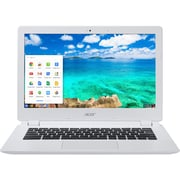 "Acer CB5-311-T9B0 13.3"" LCD NVIDIA Tegra K1 16GB Flash, 2GB, Chrome OS Chromebook, White"