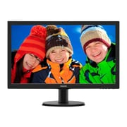 Philips - Monitors V-Line 243V5LSB 23.6-inch HD LCD Monitor
