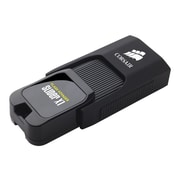 Corsair Flash Voyager® Slider X1 64GB 130 Mbps USB 3.0 Flash Drive, Black (CMFSL3X1-64GB)