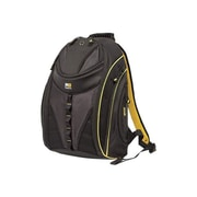 Mobile Edge Express Backpack 2.0 Black/Yellow 600 Denier Ballistic Nylon Notebook Carrying Backpack (MEBPE42 )