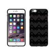 Centon OTM Black/Black Collection Case for iPhone 6 Plus, Black Matte, Herringbone