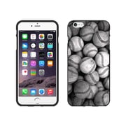 Centon OTM Rugged Collection Case for iPhone 6 Plus, Black Matte, Baseball