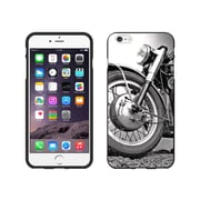 Centon OTM Rugged Collection Case for iPhone 6 Plus, Black Matte, Motorcycle