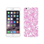 Centon OTM New Age Collection Case for iPhone 6 Plus, White Glossy, Swirls