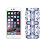 Centon OTM New Age Collection Case for iPhone 6 Plus, White Glossy, Geometric