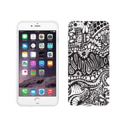 Centon OTM New Age Collection Case for iPhone 6 Plus, White Glossy, Paisley