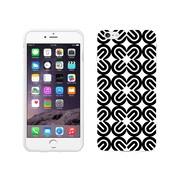 Centon OTM Black/White Collection Case for iPhone 6 Plus, White Glossy, Mirrors