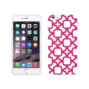 Centon OTM Elm Bold Collection Case for iPhone 6, White Glossy, Blue & Teal