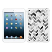 Centon IASV1WG-ZGY-04 OTM Ziggy Collection Case for Apple iPad Air, White Glossy, Gray