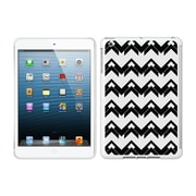 Centon IMV1WG-BOW-02 OTM Black/White Collection Case for Apple iPad Mini, White Glossy, Herringbone