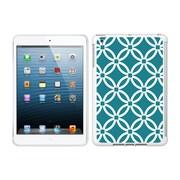 Centon IMV1WG-LMB-02 OTM Elm Bold Collection Case for Apple iPad Mini, White Glossy, Teal