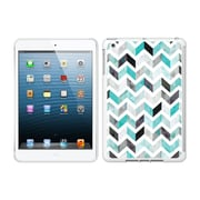Centon IMV1WG-ZGY-01 OTM Ziggy Collection Case for Apple iPad Mini, White Glossy, Aqua