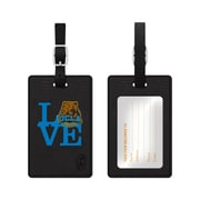 Centon Black Leather Love Bag Tag, University of California