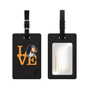 Centon Black Leather Love Bag Tag, University of Tennessee