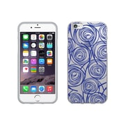 OTM Essentials Classic Prints Phone Case for Use with iPhone 6 Plus, New Age Swirls of Sapphire, Clear (IP6PCLR-AGE-02V3)
