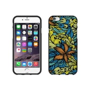 Centon OTM Tahitian Collection Case for iPhone 6, Black Matte, Yellow & Blue