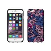 Centon OTM Tahitian Collection Case for iPhone 6, Black Matte, Purple & Pink