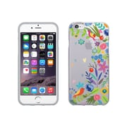 OTM  Essentials Floral Prints Phone Case for Use with iPhone 6 Plus, Springtime, Clear (IP6PV1CLR-FLR-01)