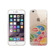 Centon OTM Paisley Collection Case for iPhone 6, Clear, Blue