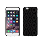 Centon OTM Black/Black Collection Case for iPhone 6 Plus, Black Matte, Ikat