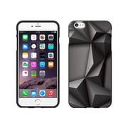 Centon OTM Black/Black Collection Case for iPhone 6 Plus, Black Matte, Rugged