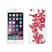 Centon OTM Ziggy Collection Case for iPhone 6 Plus, White Glossy, Chinese Folk
