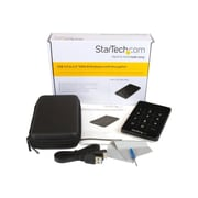 "StarTech Encrypted SATA III External Enclosure for 2.5"" Hard Drive (S2510BU33PW)"