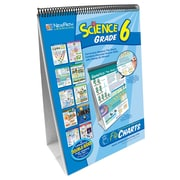 NewPath Learning Science Curriculum Mastery Flip Chart Set, Grade 6