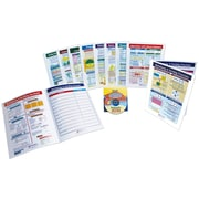 10 Piece Mastering Math Visual Learning Guides Set Grade 5