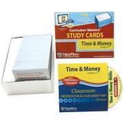 Time & Money Skills Study Card Grade 2-4