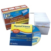 NewPath Learning Middle School Physical Science Study Cards, Grade 5-9