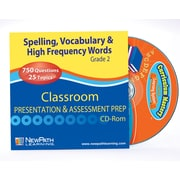 Vocabulary and High Frequency Words Interactive Whiteboard CD-ROM