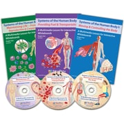 NewPath Learning Complete Systems of the Human Body Multimedia Lessons 3/Set