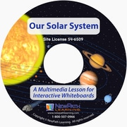NewPath Learning Our Solar System Multimedia Lesson, CD-ROM, Grade 6-10