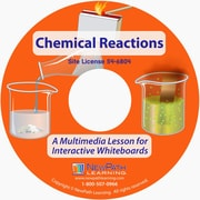 NewPath Learning Chemical Reactions Multimedia Lesson, CD-ROM, Grade 6-8