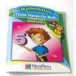 I Love Hands-On Math Reproducible Workbook Grade 5