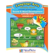 NewPath Learning Alphabet Activity Series - Sound and Word Development Workbook