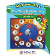 The Time Math Activity Reproducible Workbook Grade 1 - 2