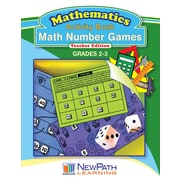Math Number Games Workbook Grade 3